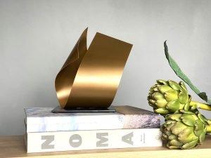 Arcform Mini Gold Sculpture