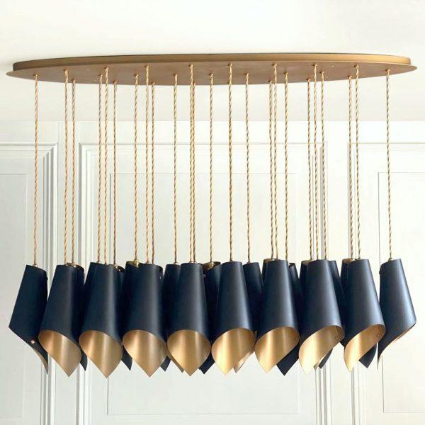 25 pedant chandelier